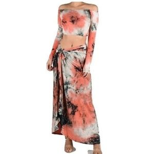 Dresses & Skirts - Tie dye set